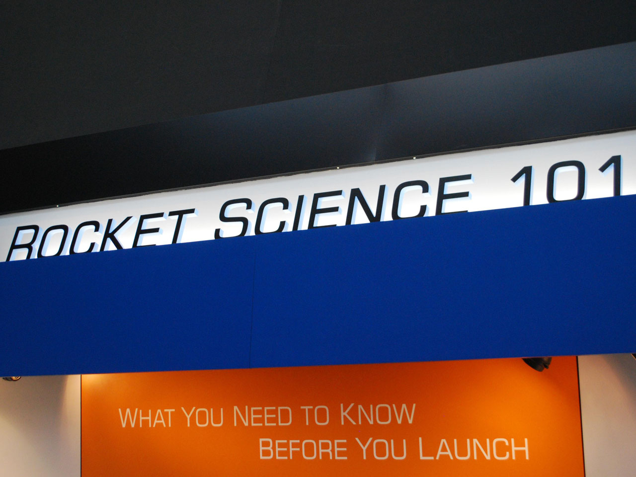 rocket science 101 banner